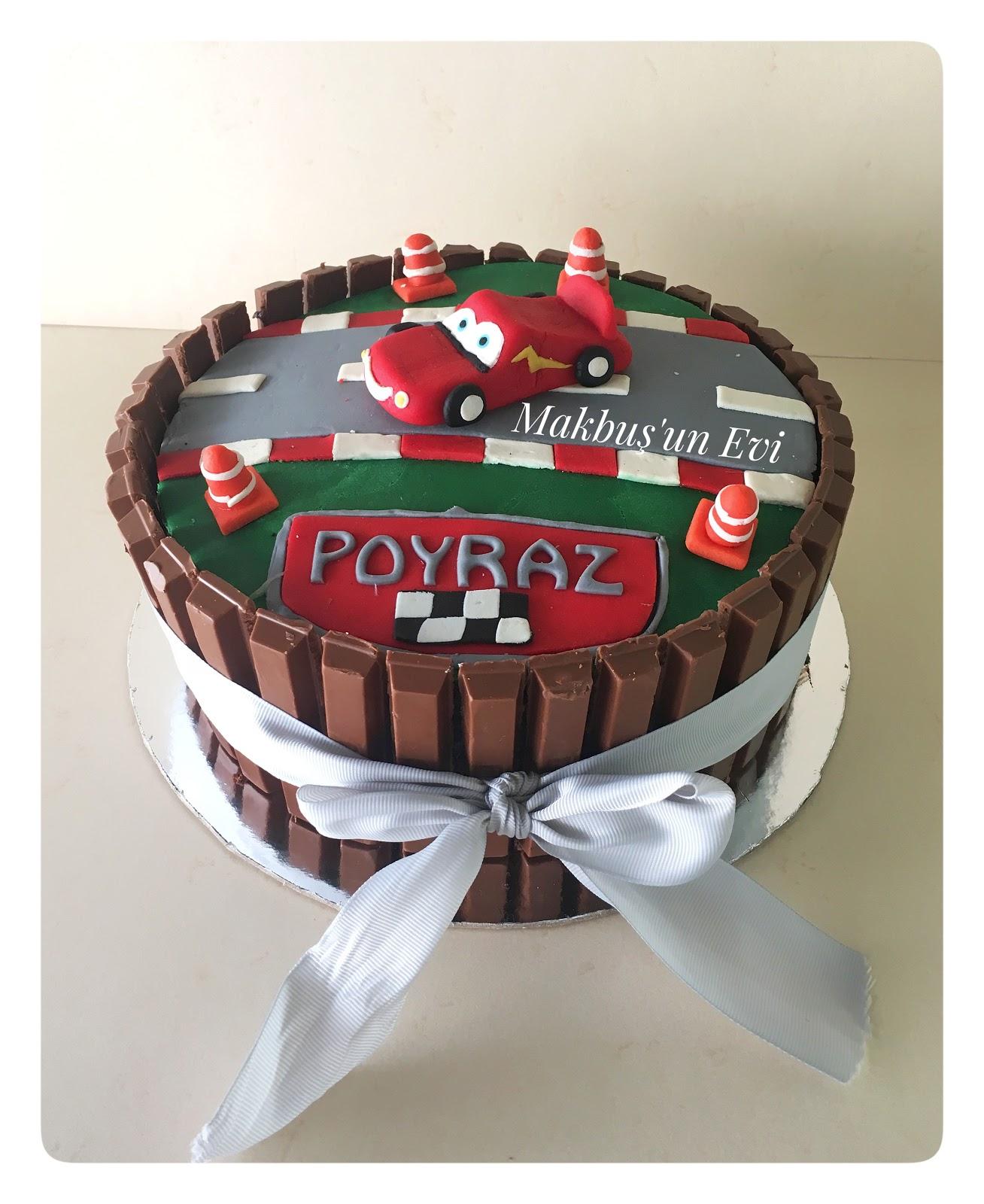 Orijinal ve hızlı tatlı - Kit Kat kek