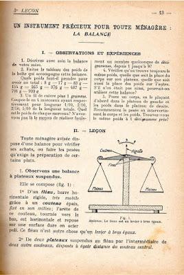 Manuel d'Education ménagère, 1938 (collection musée)