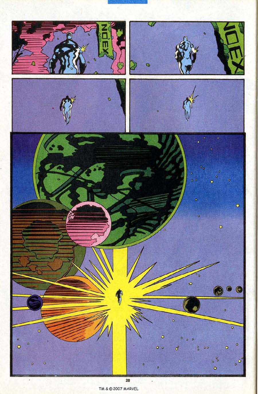 Read online Silver Surfer (1987) comic -  Issue #84 - 30
