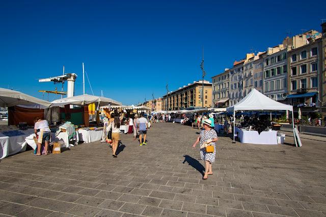 Quai du port-Mercatino prodotti artigianali-Marsiglia