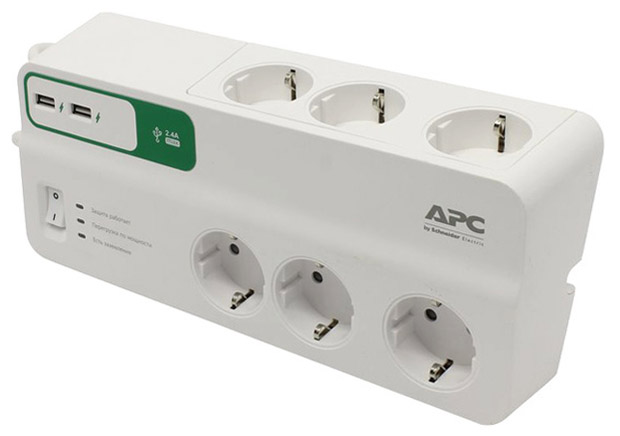 APC PM6U-RS SurgeArrest
