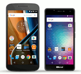Moto G4 and BLU R1 HD