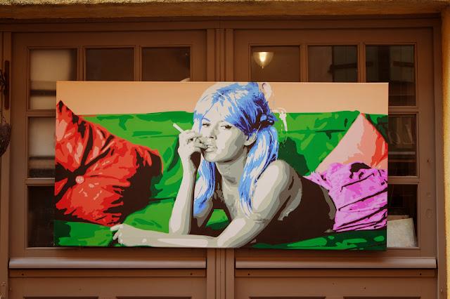 Saint Tropez-Mursles di Brigitte Bardot