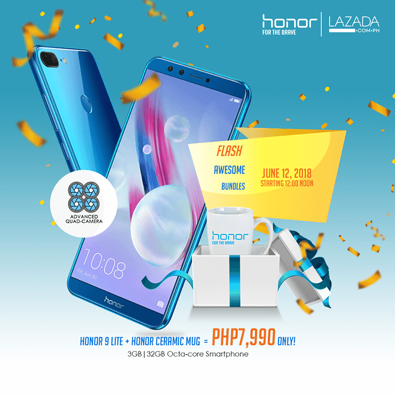 Honor 9 Lite Lazada Philippines flash sale announced