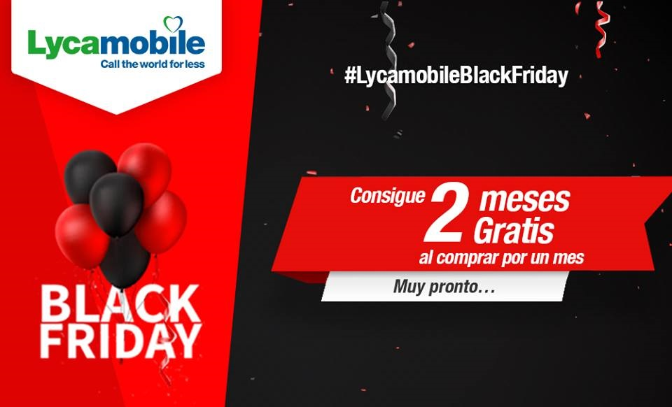 Lycamobile Black Friday 2018