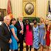 White House: President Trump and Ivanka host two Chibok girls