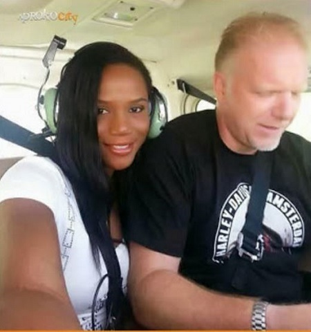 Soft Porn Actress, Maheeda & Her Oyinbo Husband Celebrate 13th Wedding Anniversary (Photos)