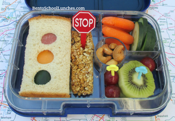 Stop light/traffic light, bento school lunches