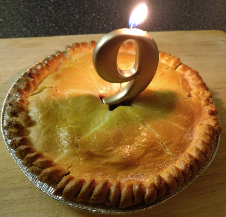 Celebrating Our 9th Birthday With A Turners Pie Or Two