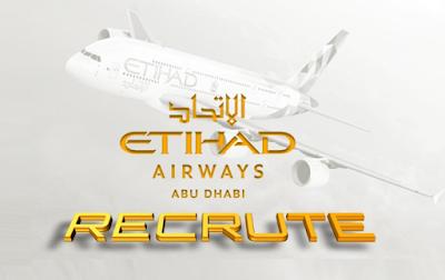 Etihad Airways Abu Dhabi Recrute