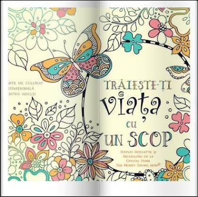 pareri traieste-ti viata cu un scop carte de colorat motivationala pentru adulti
