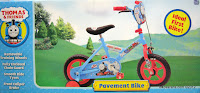 B 12 Inch Thomas and Friends Pavement Bike
