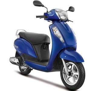 New 2016 Suzuki Access 125 Right side Front three qauters