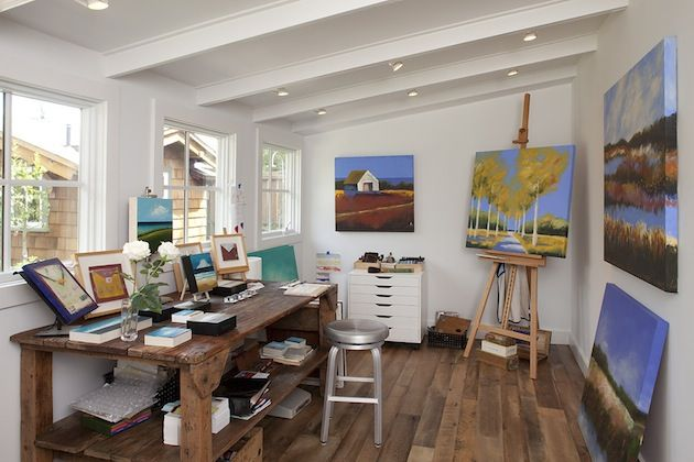 atelier home office para pintura
