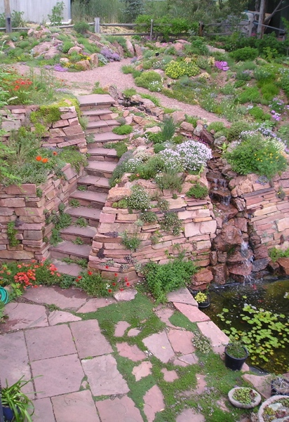 Prairiebreak: Rock Garden Design