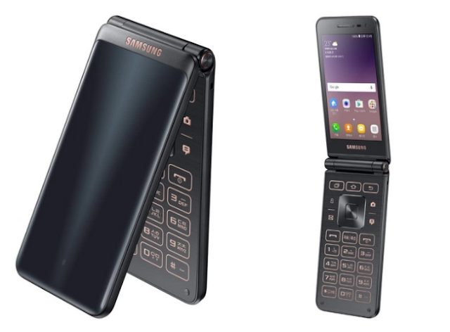 Samsung Galaxy Folder 2 Flip phone with Android 6.0
