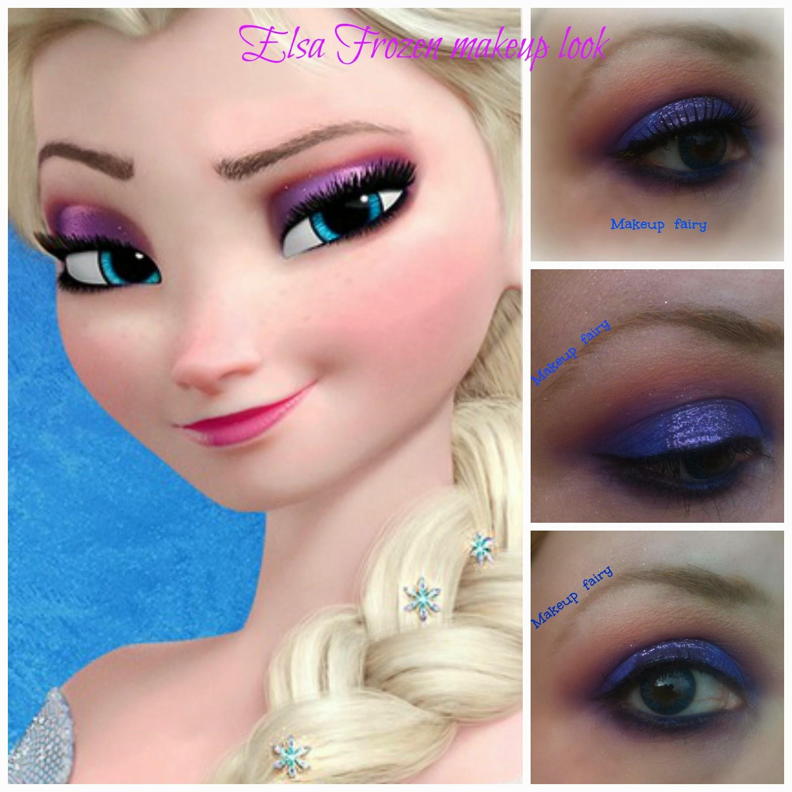 b7ab2d9f046 Elsa frozen inspired makeup look - disney princesses-