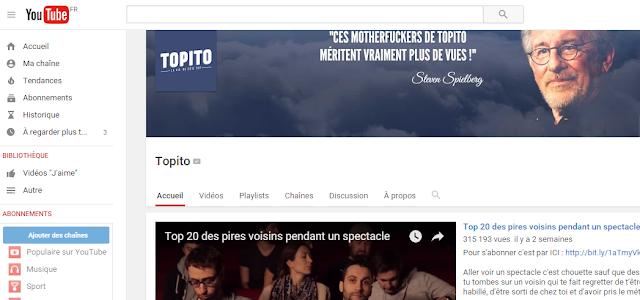 (Vidéo) On peut regarder les vidéos de Topito