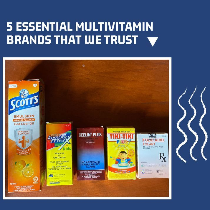 The five essential multivitamin brands that we trust for our babies