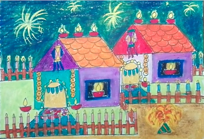 diwali-scene-drawing-competition-pictures-for-school-kids-2018