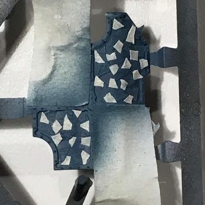Painting Legio Tempestus Camouflage WIP