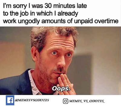 Overtime meme