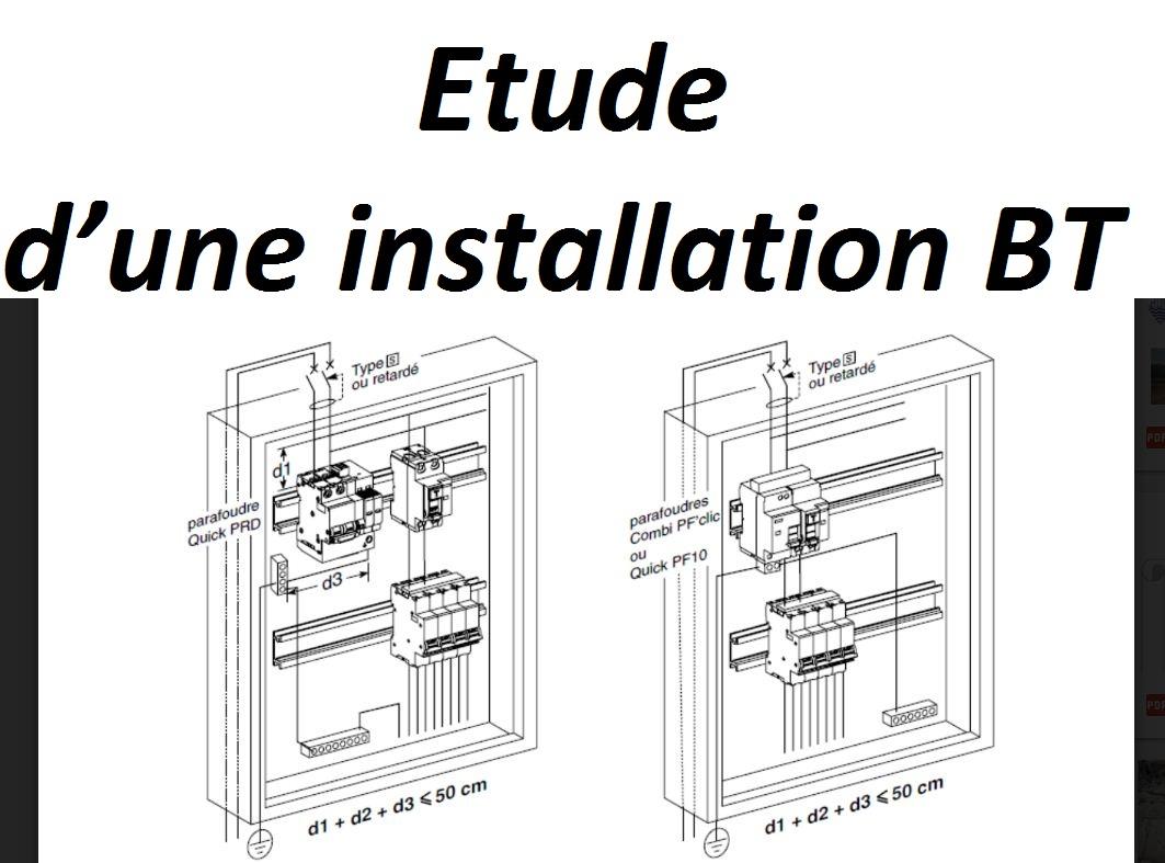 Etude Du0027une Installation BT   Rapport De Stage