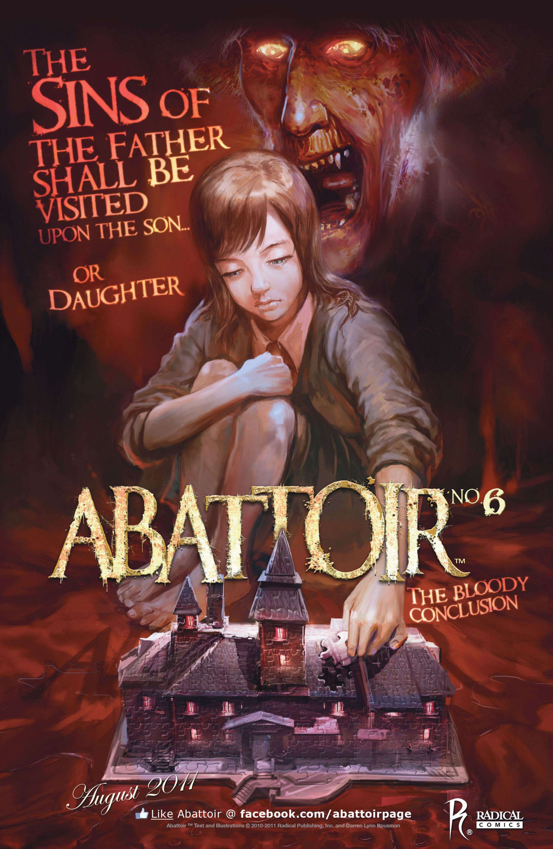 Read online Abattoir comic -  Issue #5 - 24