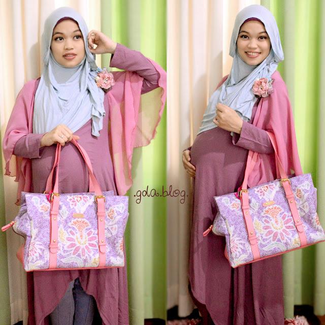 Baju Hamil Kekinian Hijab