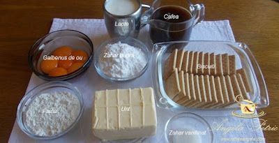 Preparare prajitura Tosca - etapa 6