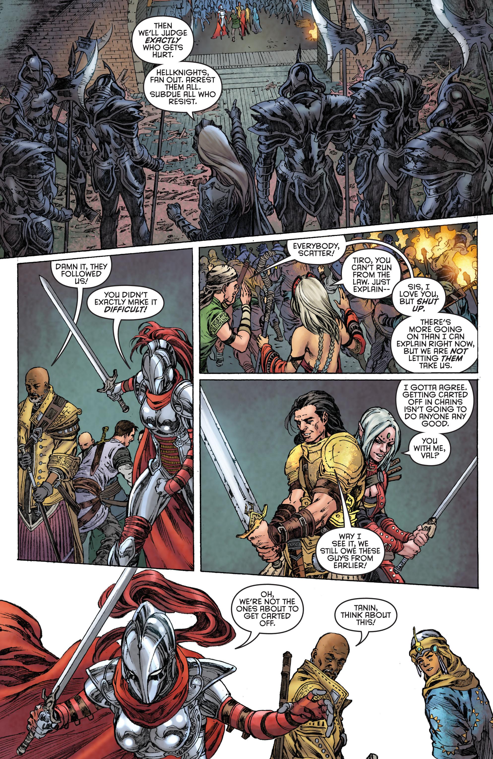 Read online Pathfinder: Runescars comic -  Issue #1 - 25
