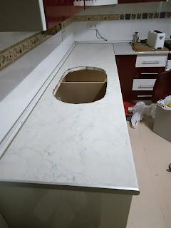 Renueva la encimera de tu cocina - Papel vinilo para cocinas ...
