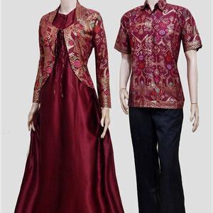 Model Gamis Batik Couple Anak Muda Terbaru