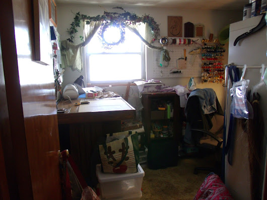 My sewing Craft Room
