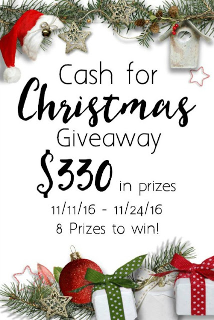 $330 Cash for Christmas Giveaway 2016