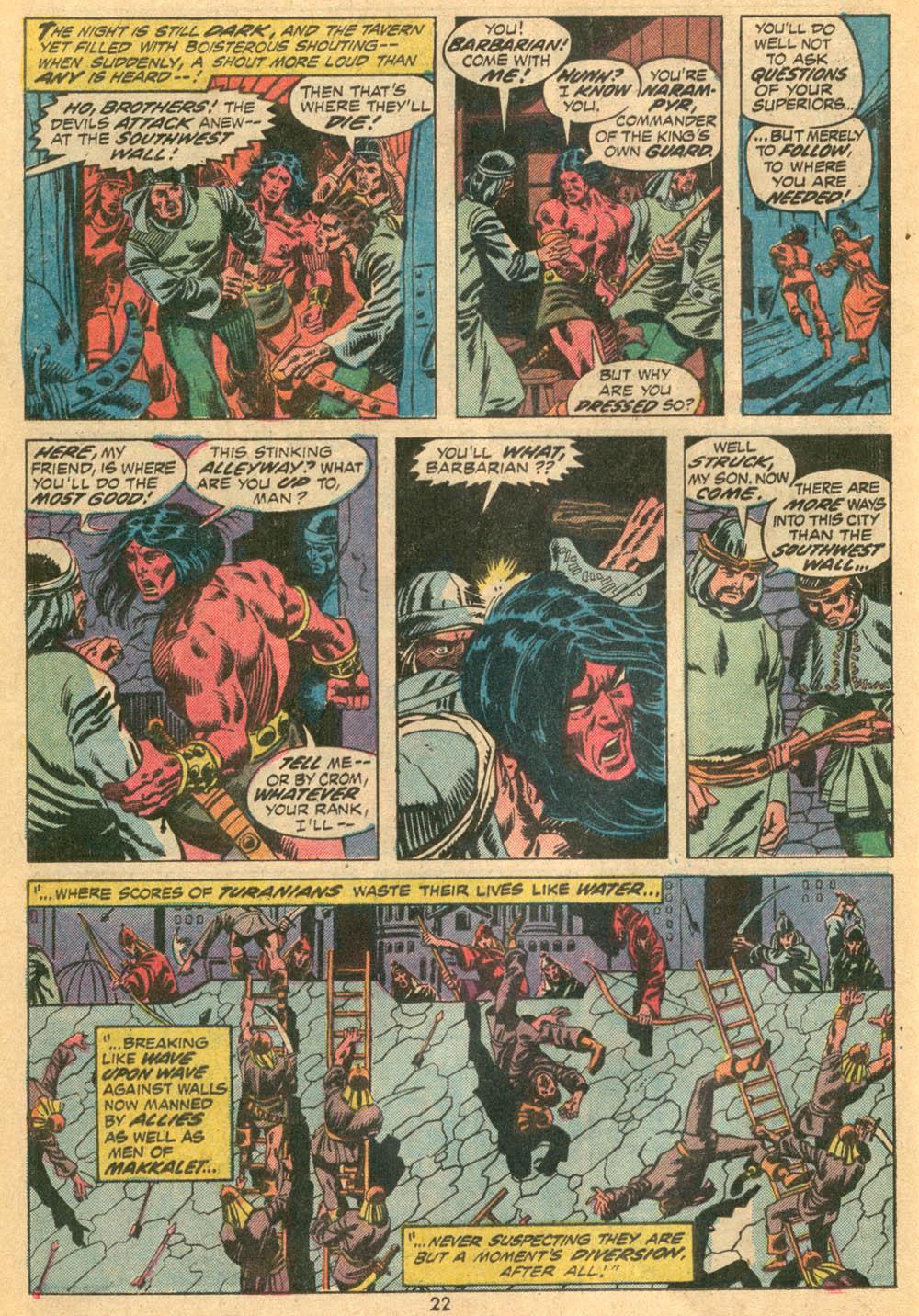 Conan the Barbarian (1970) Issue #23 #35 - English 16