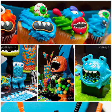 Tricked Out Treats for Little Monsters