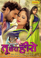 bhojpuri movie poster of Tu Mera Hero