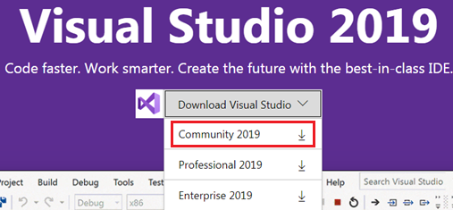 download visual studio 2019 community edition