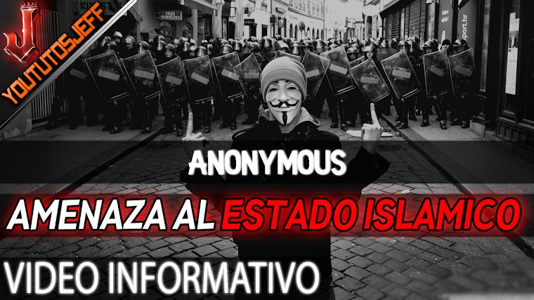 """""""Vamos a contraatacar"""" Anonymous amenaza al Estado Islamico   2016"""