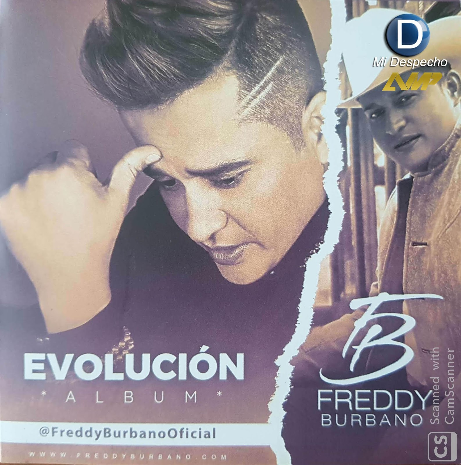 Freddy Burbano Evolucion