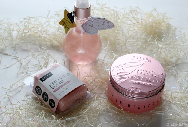 Fairy bath and body products