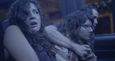 Grupo passa por tensão em van, na novela 'Malhação - Toda Forma de Amar' — Foto: Globo