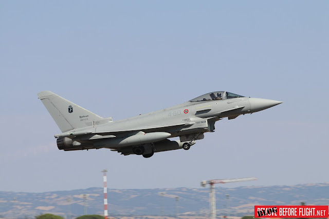 Scramble Italian Eurofighter intercept