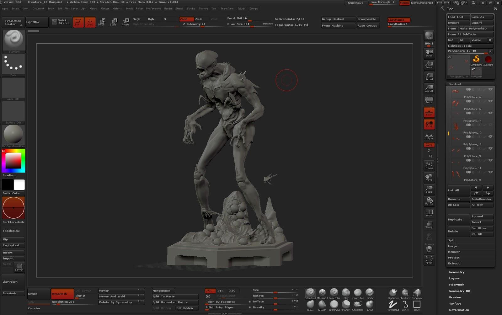 MIKE GARN Design: WORKSTATION AND UI SETUP
