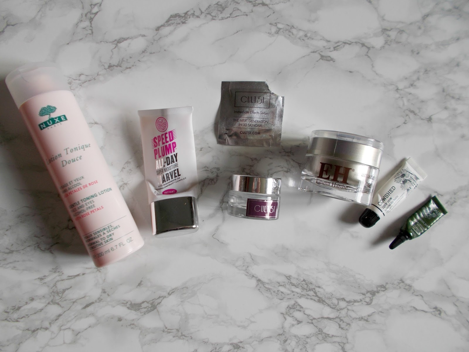 product empties skincare nuxe soap and glory cult 51 review