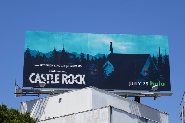 Castle Rock series premiere billboard