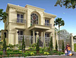 Kesan Mewah Pada Rumah Gaya Klasik 2