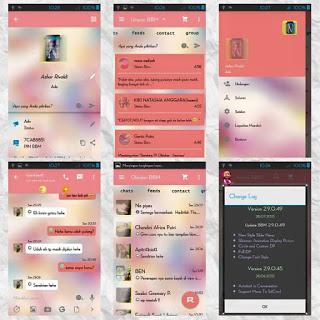 BBM MOD LOVE Story v3.0.1.25 APK Terbaru 2016