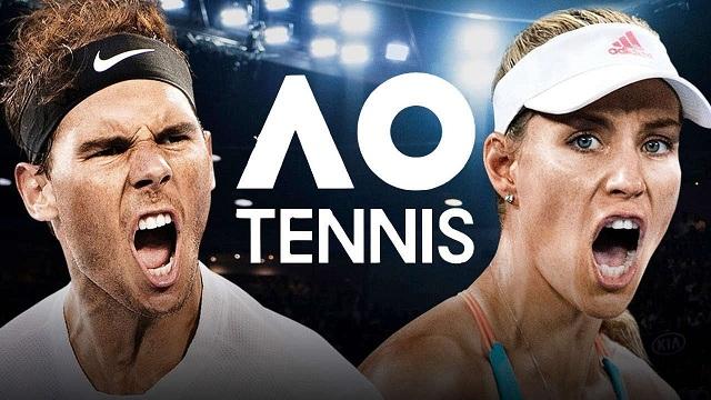 لعبة التنس العالمية AO International Tennis